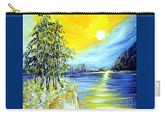 Morning Sunrise. Life Is Beautiful Carry-all Pouch by Oksana Semenchenko