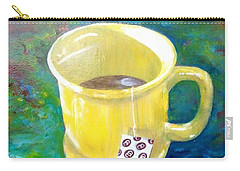 Morning Tea Carry-all Pouch by T Fry-Green