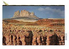 Carry-all Pouch featuring the photograph Morning View by Nikolyn McDonald
