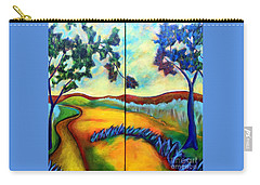 Morning Walk Carry-all Pouch by Elizabeth Fontaine-Barr