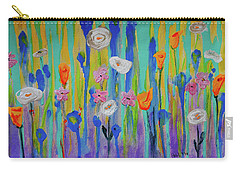 Morning Wildflowers Carry-all Pouch