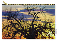 Carry-all Pouch featuring the photograph Morning Woods by James BO Insogna