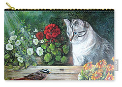 Morningsurprise Carry-all Pouch by Patricia Schneider Mitchell
