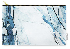 Moroccan Blues Carry-all Pouch by Uma Gokhale