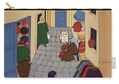 Moroccan Street Scene Carry-all Pouch