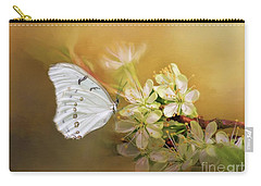 Morpho Luna  Carry-all Pouch by Eva Lechner