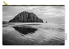 Carry-all Pouch featuring the photograph Morro Rock II by Margaret Pitcher
