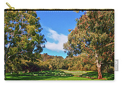 Mortimer Galah Live At The Grass Ampitheatre Carry-all Pouch by Mark Blauhoefer