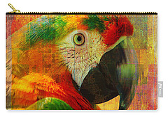 Mosaic Macaw 2016 Carry-all Pouch