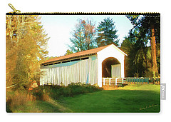 Mosby Creek Covered Bridge Carry-all Pouch