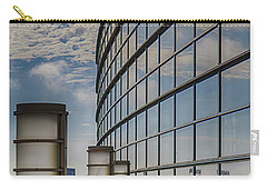 Carry-all Pouch featuring the photograph Moscone West Balcony by Darcy Michaelchuk