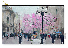 Moscow Arbat Street View Carry-all Pouch