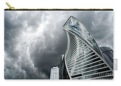 Moscow City And Storm Carry-all Pouch
