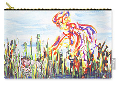 Moses In The Rushes Carry-all Pouch