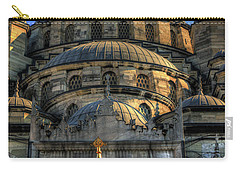 Carry-all Pouch featuring the photograph Mosque by Tom Prendergast