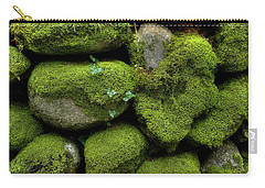 Carry-all Pouch featuring the photograph Moss And Ivy by Mike Eingle