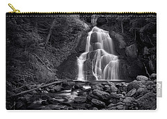 Moss Glen Falls - Monochrome Carry-all Pouch by Stephen Stookey