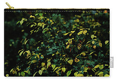 Carry-all Pouch featuring the photograph Moss In Colors by Gene Garnace