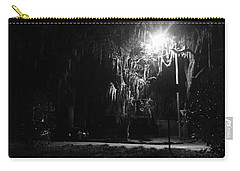 Moss Park Black And White  Carry-all Pouch