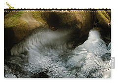 Mossy Rocks And Ice Carry-all Pouch