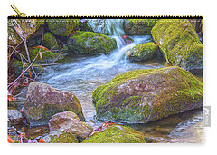 Mossy Stepping Stones Carry-all Pouch by Angelo Marcialis
