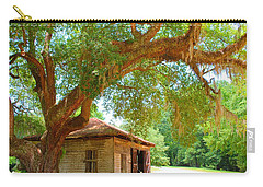 Mossy Tree In Natchez Carry-all Pouch