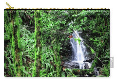 Mossy Trees And Waterfalls  Carry-all Pouch