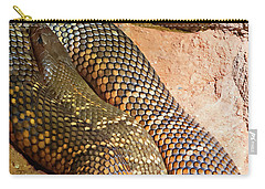 Carry-all Pouch featuring the photograph Most Venomous Snake  by Miroslava Jurcik