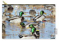 Mostly Mallards Carry-all Pouch