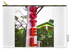 Motel Carry-all Pouch by Beth Saffer