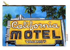 Motel California Carry-all Pouch