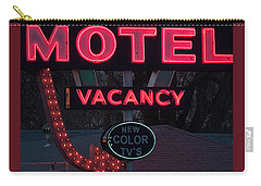 Motel-pink Carry-all Pouch