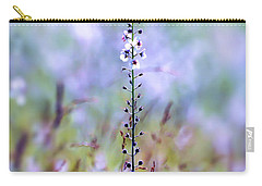 Carry-all Pouch featuring the photograph Moth Mullein - Wildflower Art by Kerri Farley