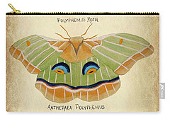 Moth Study Carry-all Pouch