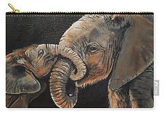 Mother And Baby Carry-all Pouch
