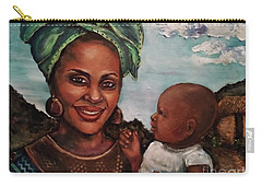 Mother And Child 2017 Carry-all Pouch