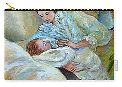 Mother And Child By May Villeneuve Carry-all Pouch