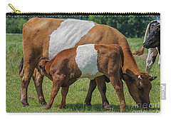 Carry-all Pouch featuring the photograph Mother And Child by Patricia Hofmeester