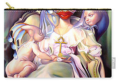 Mother And Child Reunion Carry-all Pouch by Patrick Anthony Pierson
