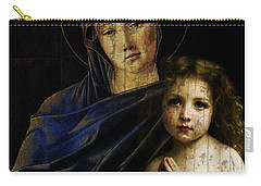 Carry-all Pouch featuring the mixed media Mother And Child Reunion  by Paul Lovering