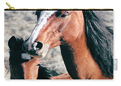 Mother And Colt Wild Carry-all Pouch