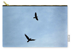 Mother And Father Raven Carry-all Pouch