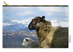 Mother And Lamb Carry-all Pouch
