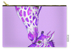 Mother Giraffe Carry-all Pouch by Jane Schnetlage