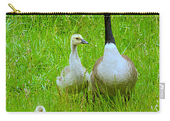 Carry-all Pouch featuring the photograph Mother Goose by Sean Griffin