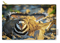 Mother Killdeer 1 Carry-all Pouch