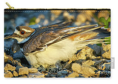 Mother Killdeer 3 Carry-all Pouch