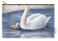 Carry-all Pouch featuring the painting Mother Love by Veronica Minozzi