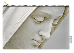 Mother Mary Comes To Me... Carry-all Pouch by Greg Fortier
