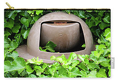 Mother Nature Most Always Wins Carry-all Pouch by Mary Lee Dereske